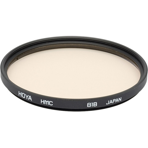 Hoya 49mm 81B Color Conversion Hoya Multi-Coated (HMC) Glass Filter