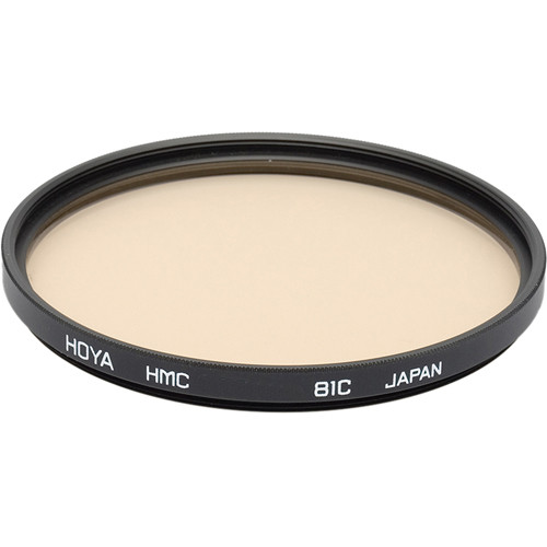 Hoya 49mm 81C Color Conversion (HMC) Multi-Coated Glass Filter