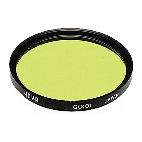 Hoya 52mm Yellow-Green #XO Hoya Multi-Coated (HMC) Glass Filter