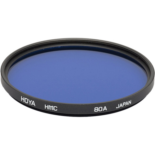 Hoya 55mm 80A Color Conversion Hoya Multi-Coated (HMC) Glass Filter