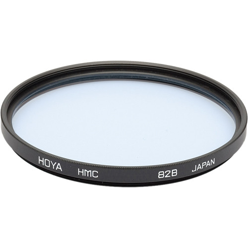 Hoya 55mm 82B Color Conversion (HMC) Multi-Coated Glass Filter