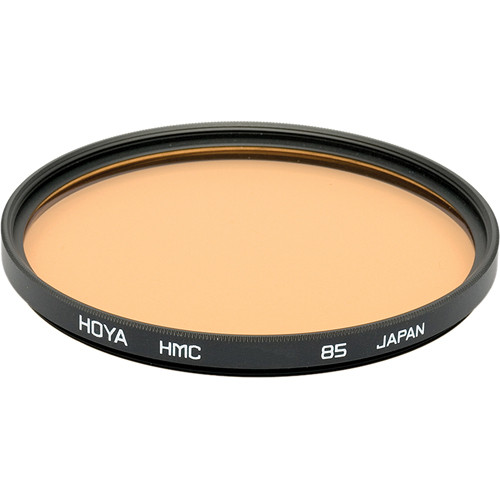 Hoya 55mm 85 Color Conversion Hoya Multi-Coated (HMC) Glass Filter
