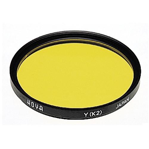 Hoya 55mm Yellow #K2 (HMC) Multi-Coated Glass Filter for Black & White Film
