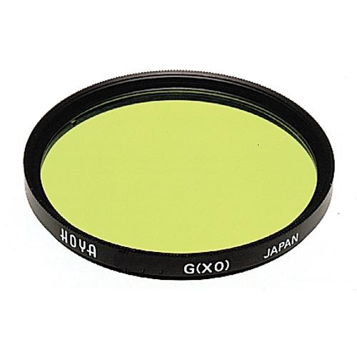 Hoya 58mm Yellow-Green #XO Hoya Multi-Coated (HMC) Glass Filter