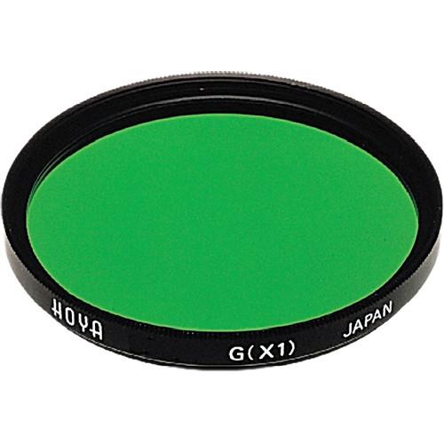 Hoya 58mm Green X1 (HMC) Multi-Coated Glass Filter for Black & White Film