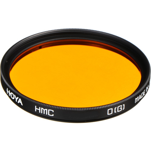 Hoya 77mm Orange G (HMC) Multi-Coated Glass Filter for Black & White Film