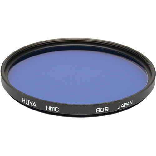 Hoya 77mm 80B Color Conversion Hoya Multi-Coated (HMC) Glass Filter