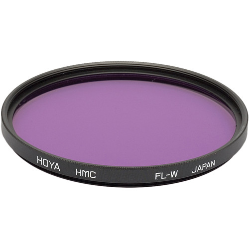 Hoya 77mm FL-W Fluorescent Hoya Multi-Coated (HMC) Glass Filter for Daylight Film