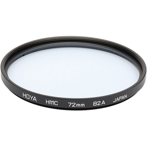 Hoya 82mm 82A Color Conversion Hoya Multi-Coated (HMC) Glass Filter