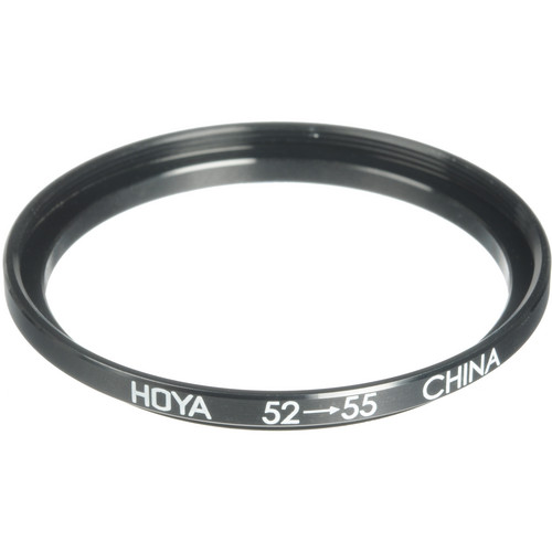 Hoya 52-55mm Step-up Ring (Lens to Filter)