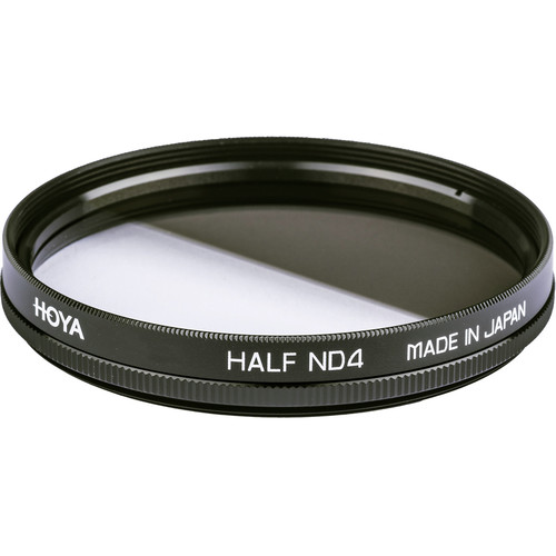 Hoya 49mm Half Neutral Density (ND) x 4 Glass Filter