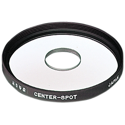 Hoya 55mm Center Spot Glass Filter