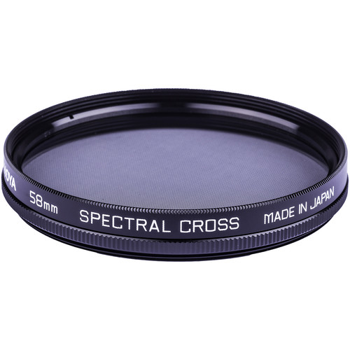 Hoya 58mm Spectral Cross Glass Filter