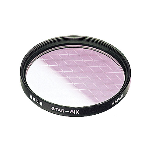 Hoya 58mm (6 Point) Star Effect Glass Filter