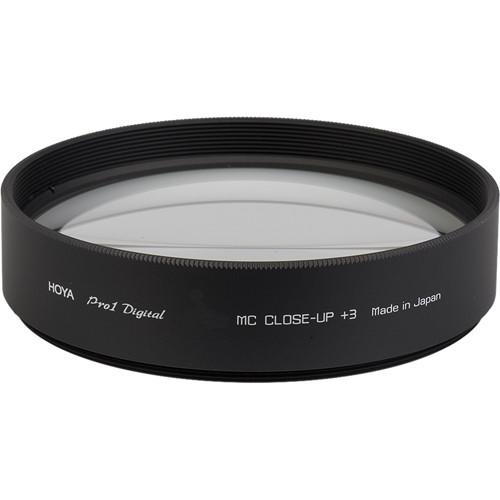 Hoya 62mm +3 Close-Up Pro 1 Digital Multi-Coated Glass Filter