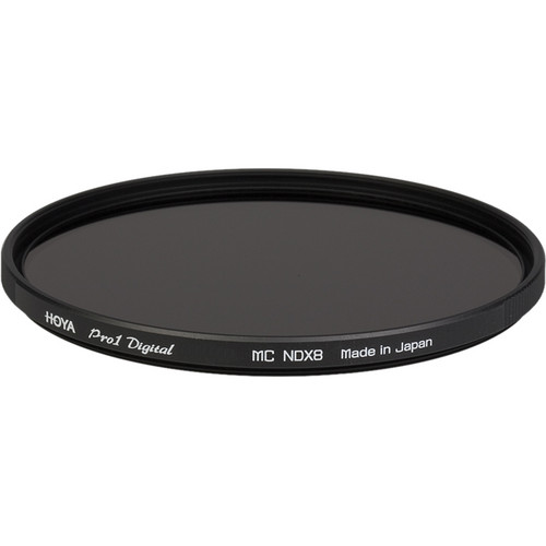 Hoya 62mm ND 0.9 Pro 1 Digital Multi-Coated Glass Filter (3-Stop)