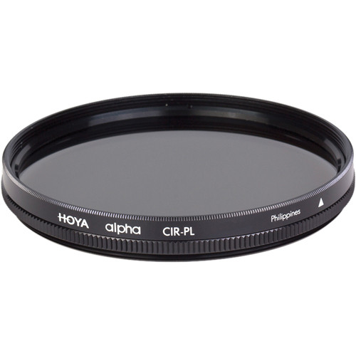 Hoya 55mm alpha Circular Polarizer Filter