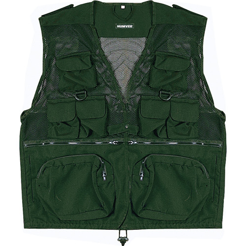 Humvee by CampCo Combat Photo Vest - XXX-Large (Olive Drab)