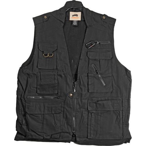 Humvee by CampCo Safari Photo Vest (XXX-Large, Black)