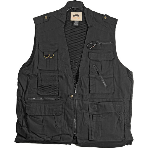 Humvee by CampCo Safari Photo Vest (Large, Black)