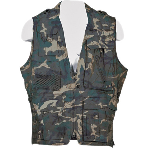Humvee by CampCo Safari Photo Vest (XXX-Large, Camouflage)