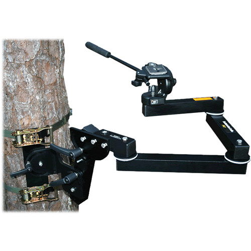 HunterCam Cradle PRO with Manfrotto 128RC Pan/Tilt Head