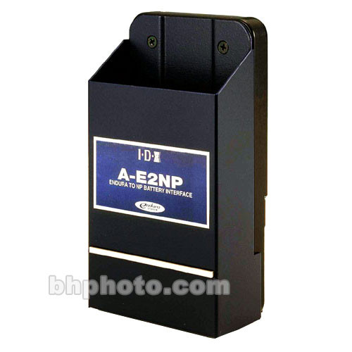 IDX System Technology A-E2NP NP Battery Adapter - for Endura V Series Chargers