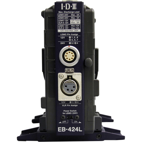 IDX System Technology EB-424L V-Mount Power Base Station