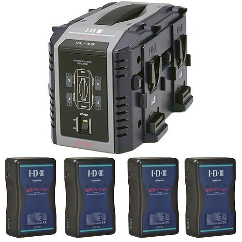 IDX System Technology ES1044 Endura 10S Broadcast Kit