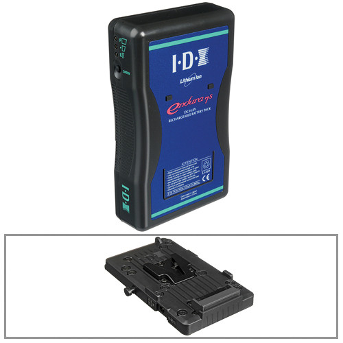 IDX System Technology E-7S Endura 14.8V DC V-Mount Battery with VL-PVC1 Charger Kit