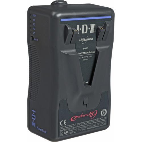 IDX System Technology E-HL9 14.4V DC V-Mount Battery with VL-PVC1 Charger Kit