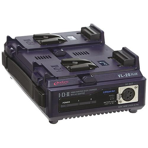 IDX System Technology VL-2SPlus Battery Charger/Power Supply