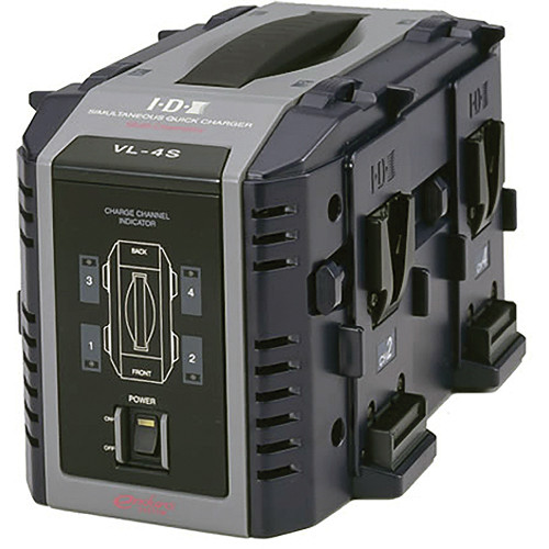 IDX System Technology VL-4S Endura 4-channel Lithium-Ion Battery Charger