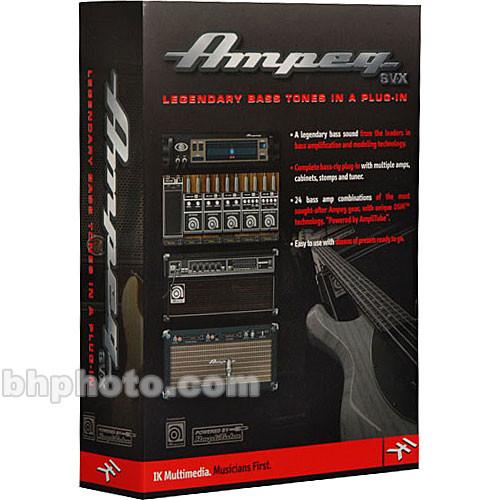 IK Multimedia Ampeg SVX Bass Plug-In