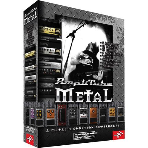 IK Multimedia AmpliTube Metal  - Guitar Amplifier, Effects and Cabinet Modeling Plug-In