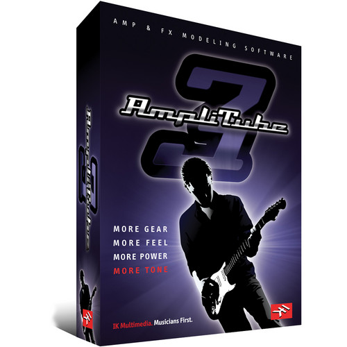 IK Multimedia AmpliTube 3 - Guitar and Bass Amp Effects Modeling Software (Crossgrade)