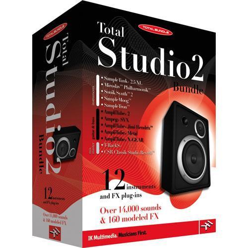 IK Multimedia Total Studio 2 Bundle - Music Production Software (Crossgrade)