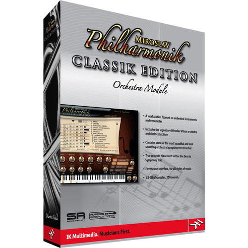 IK Multimedia Miroslav Philharmonik Classik Edition Sample Library