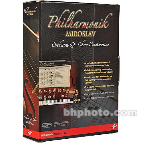 IK Multimedia Miroslav Philharmonik Sample Library