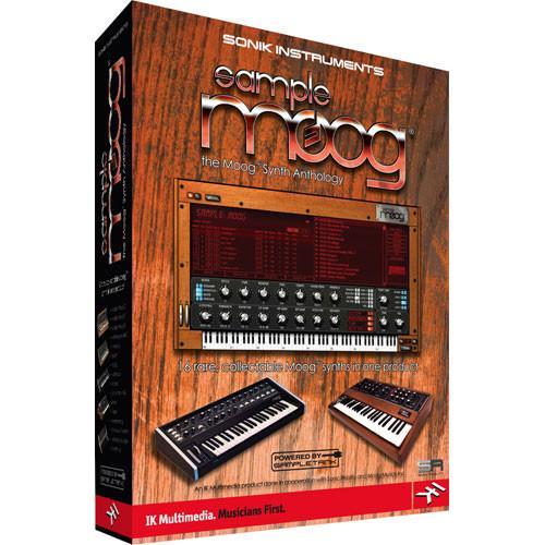 IK Multimedia SampleMoog - Virtual Moog Synthesizer Collection