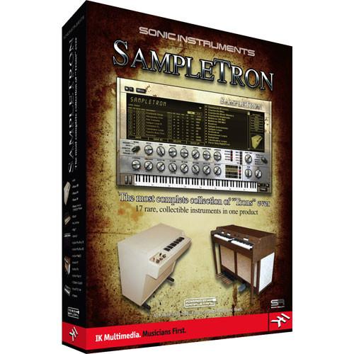 IK Multimedia SampleTron  - Virtual Instrument