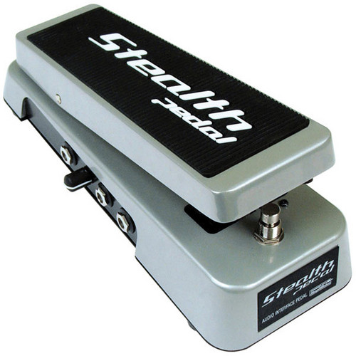 IK Multimedia StealthPedal CS - Audio Interface and Controller Foot Pedal