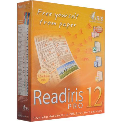 IRIS Readiris Pro 12 Software for PC