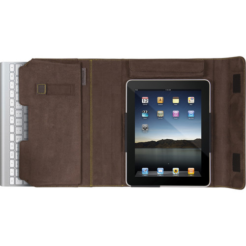 i.Sound Keyboard Portfolio for iPad 1 & iPad 2 (Brown)