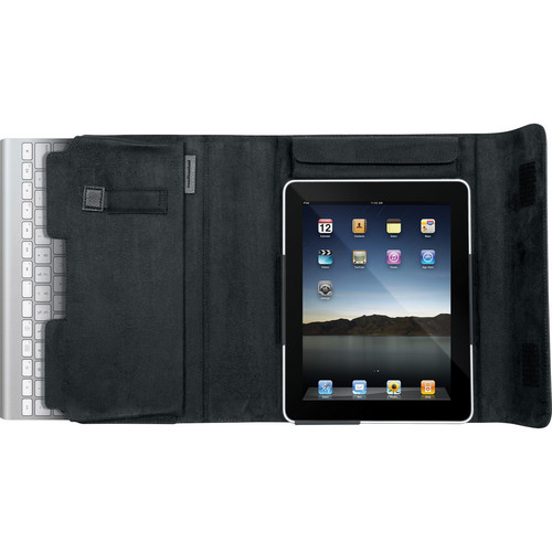 i.Sound Keyboard Portfolio for iPad 1 & iPad 2 (Black)