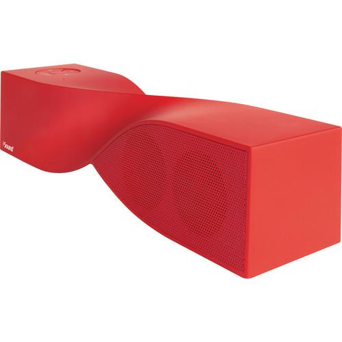 i.Sound Twist Bluetooth Speaker (Red)