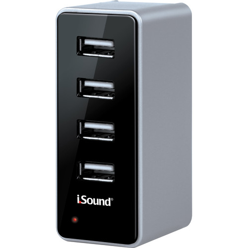 i.Sound 4 USB Wall Charger Pro