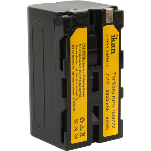 ikan IBS-750 Replacement Battery (Black)