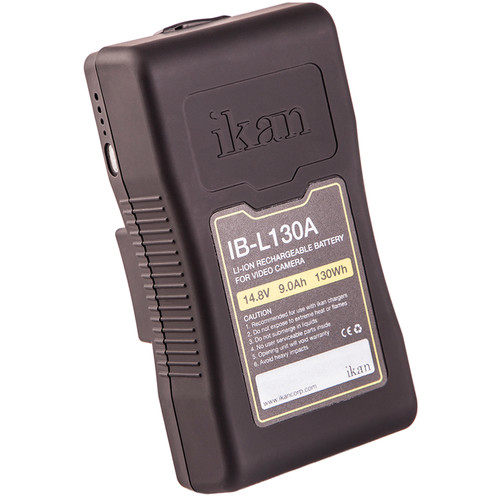 ikan IB-L130A Lithium Ion AB Mount Battery