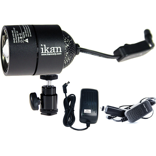ikan iLED ONE Interchangeable On-Camera Light with Power Supply